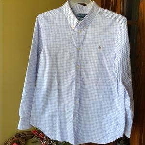 3/$25 Ralph Lauren boys button down shirt Sz XL